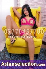 Ruby Asian Escorts in Canary Wharf London